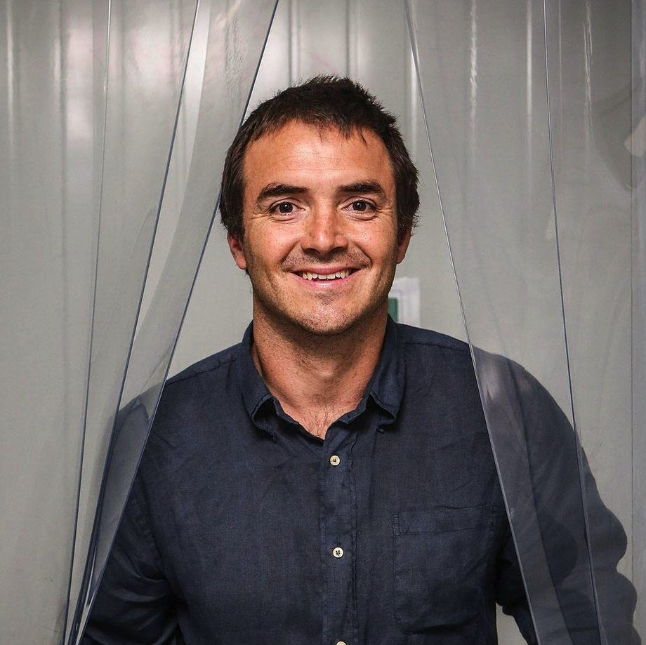 Cristián Emhart, gerente general y cofundador de F4F: Food for the Future. Foto: F4F.