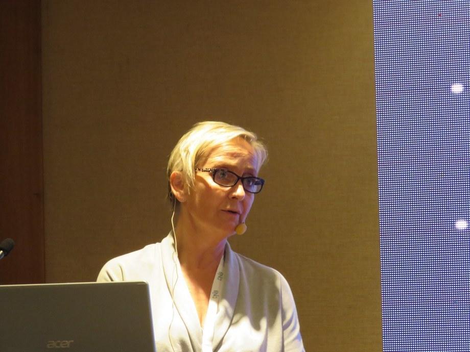 Marianne Rasmussen, directora de MercatorMedia. Foto: Salmonexpert.