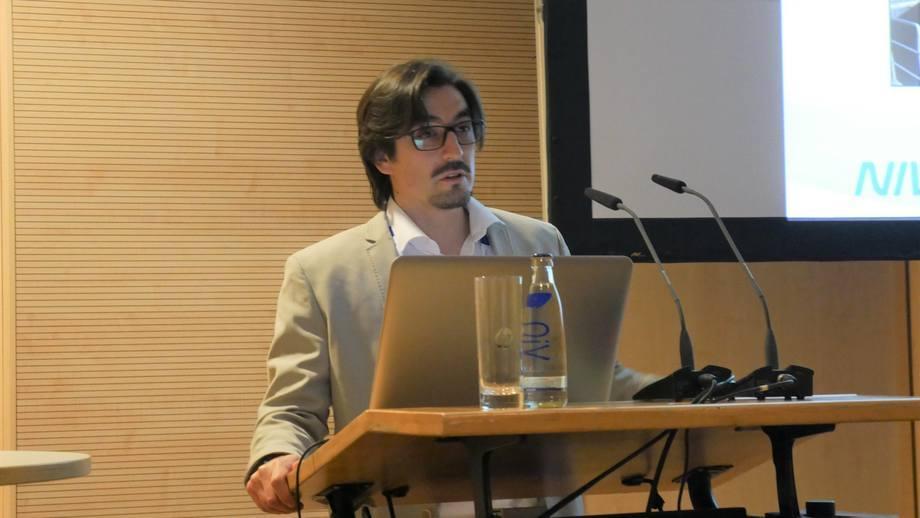 Xavier Gutiérrez, gerente general de NIVA Chile. Foto: FFE.