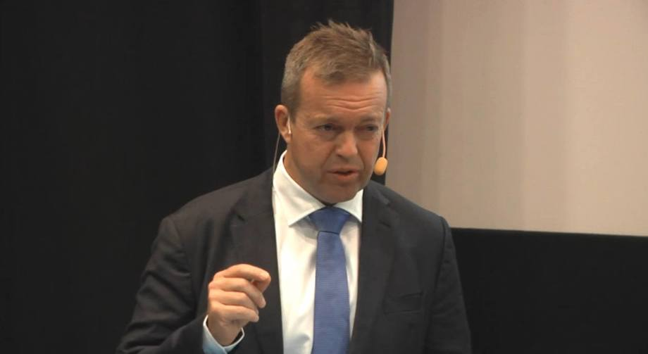Mowi chief executive Alf-Helge Aarskog.