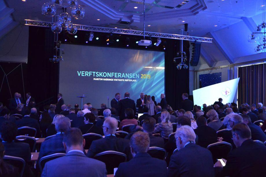 Fra åpningen av Verftskonferansen 2019. Foto: Margarita Savinova