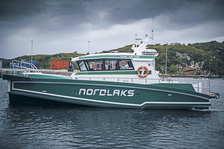Skarsvåg Boats har overlevert «Nora» til Nordlaks. Foto: Skarsvåg Boats