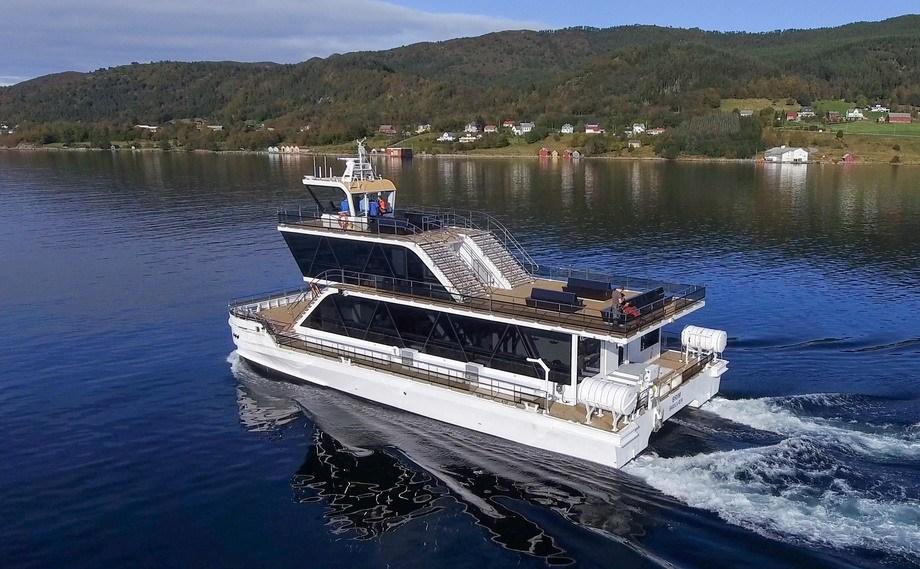 «Brim» er overlevert fra Maritime Partner, og er allerede i gang med sightseeingturer