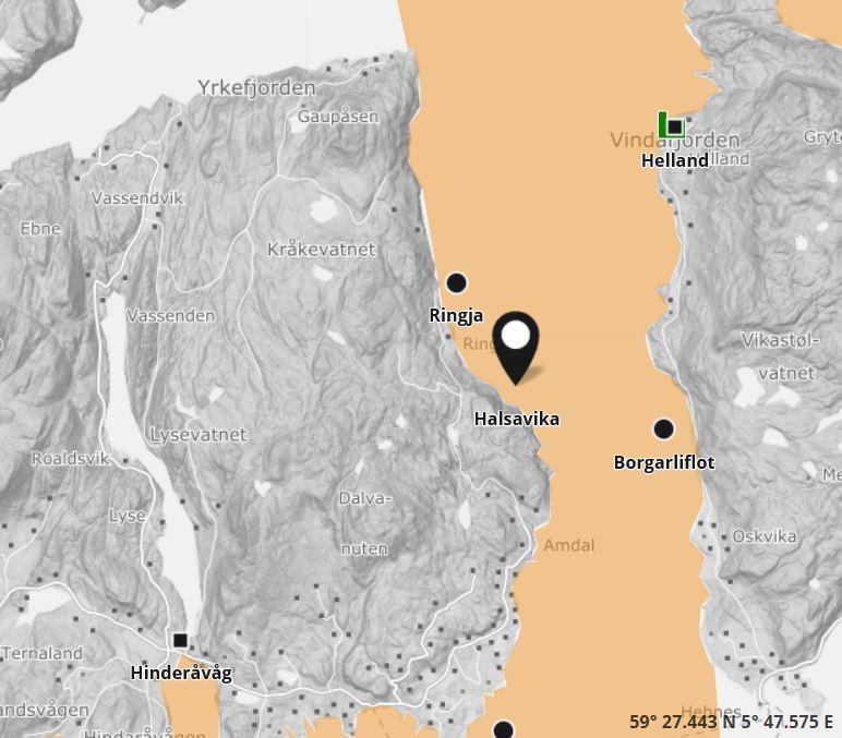 Tilfellet av SAV 2 ved Halsavika i Rogaland er nå bekreftet. Illustrasjon: Barentswach