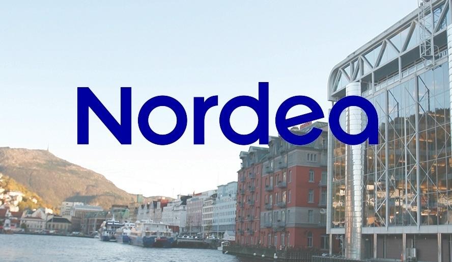 Viktigste moment for Nordea er at Grieg Seafood opprettholder målet om 100 000 tonn neste år. Foto av Griegs hovedkvarter i Bergen: Grieg Seafood.