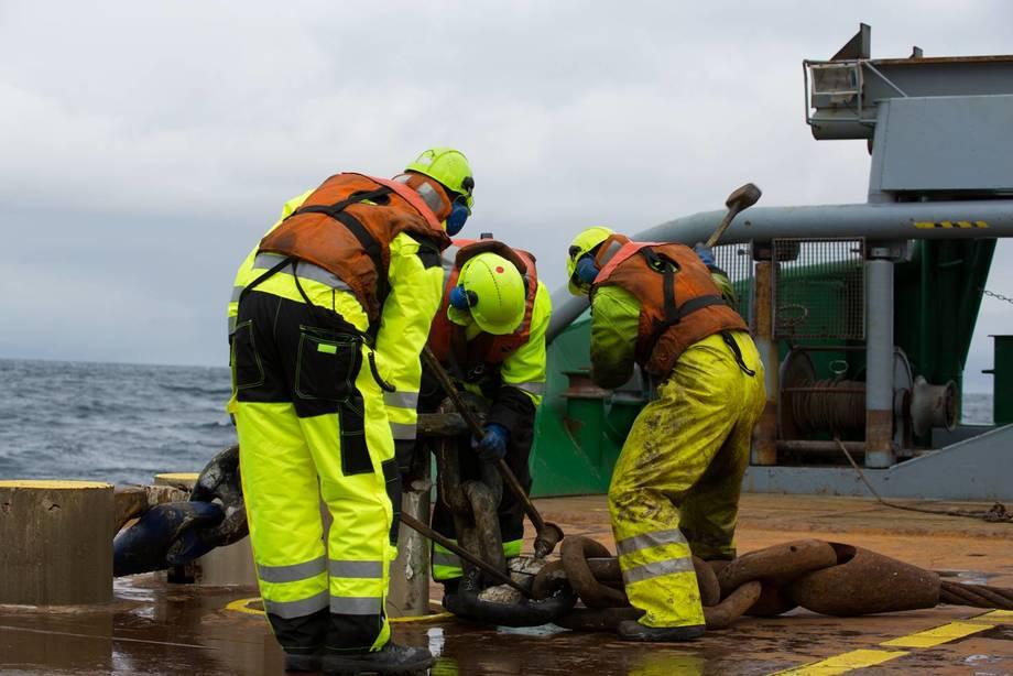 Nå kan sjøfolk, blant annet, tjene opp pensjon av egen inntekt, slik som i andre tjenestepensjonsordninger. Illustrasjonsfoto: Rederiforbundet.