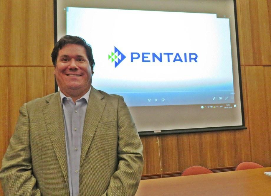 Juan Pablo Barrales, ex gerente de Administración y Ventas de Pentair Chile. Foto: Archivo Salmonexpert.