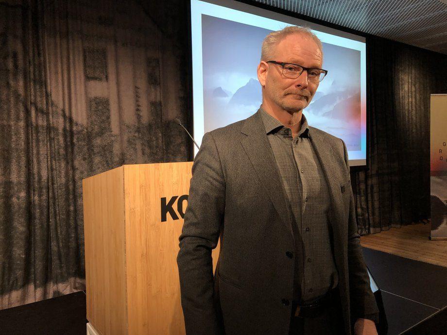 Tom Jarle Bjørkly fra Mortenlaks er gjenvalgt somstyreleder. Foto: Ole Andreas Drønen