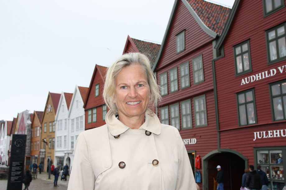 Kristin Krohn Devold i NHO Reiseliv vil kutte i cruiseturismen i Norge. Foto: Sigbjørn Larsen