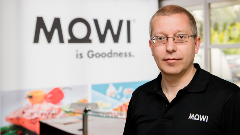 Gideon Pringle is currently working his notice at Mowi and will take up his new role in April. Photo: Mowi Scotland.