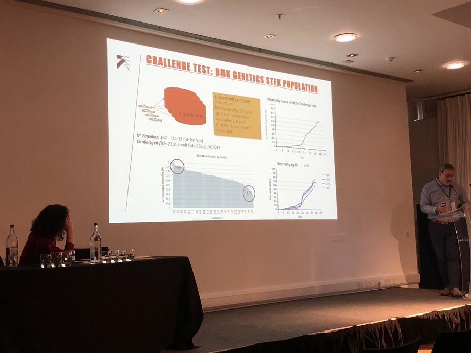 La empresa además fue patrocinadora de la conferencia ICISB. Foto: Benchmark Genetics.