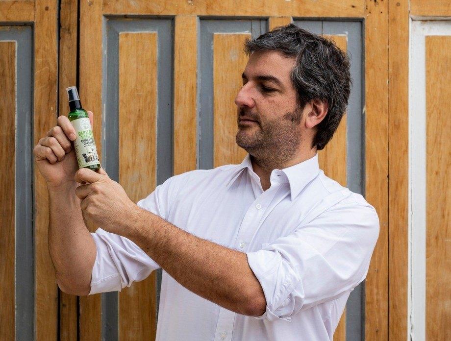Maximiliano Cortés, fundador de Herbumcare. Foto: Herbumcare.