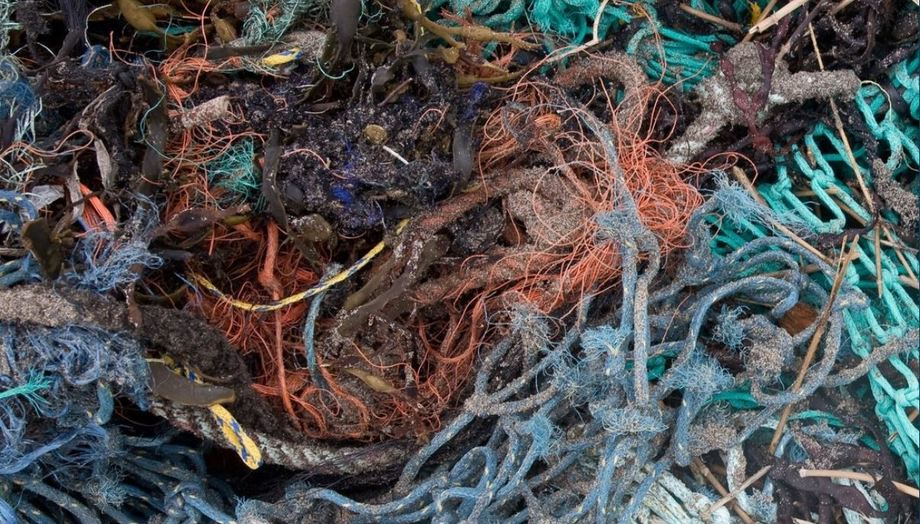 Discarded or lost fishing nets such are these are the most common examples of ghost gear, but aquaculture equipment can find its way into the oceans too, says ASC. Photo: Global Ghost Gear Initiative.