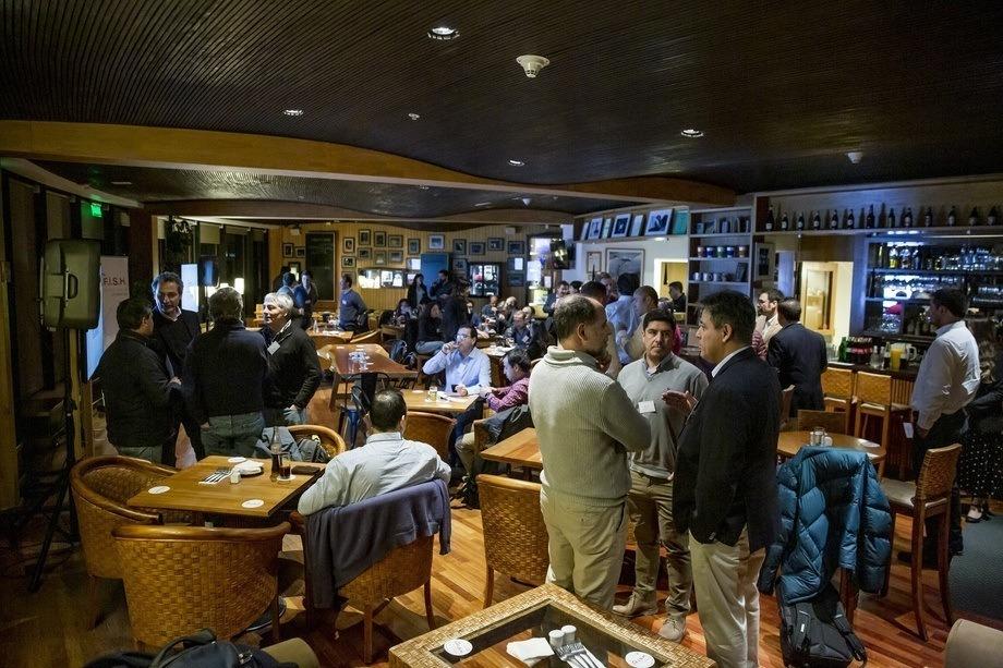 Jornada de Fish Great Talks. Foto: Skretting Chile.