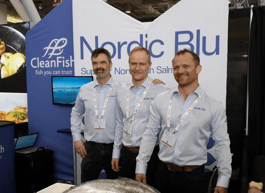 Nordic Blu Salmon fra Skjerstadfjorden er snart å finne i restauranter og butikker hos Nord-Amerika`s største Italienske restaurant- og butikkjede Eataly. Foto: Wenberg Fiskeoppdrett og Edelfarm