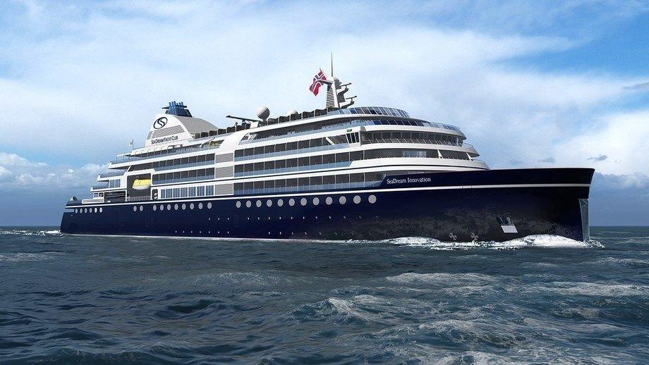 Atle Brynestads nye luksuriøse cruiseskip forblir foreløpig en drøm. Foto: SeaDream
