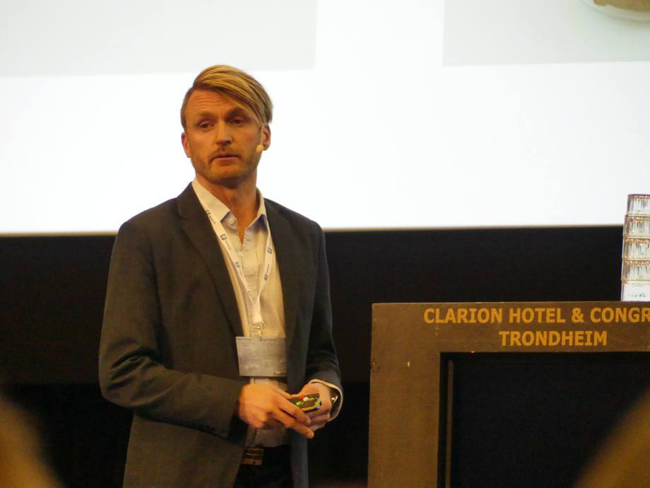 El gerente de proyecto de Hyperthermics AS, Stig Amdam. Foto: Ole Andreas Drønen