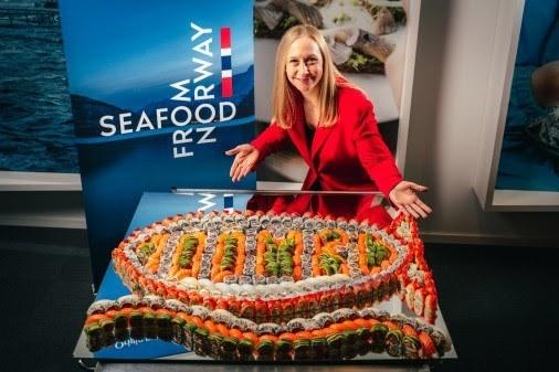 Norges Sjømatråd melder at sjømateksporten snart har rundet 100 milliarder kroner.