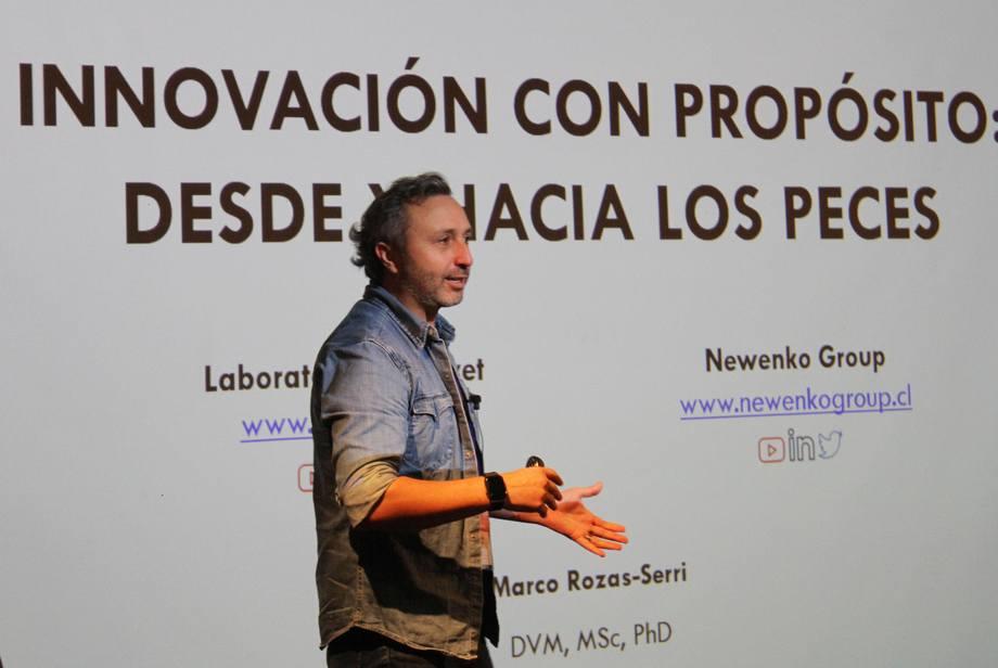 La actividad reunió a actores acuícolas de áreas como producción, academia y ciencia. Foto: Salmonexpert.