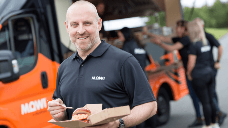 Mowi Scotland communications director Ian Roberts has been busy hosting tours of the company's facilities, as well as introducing Mowi's Salmon Wagon earlier this year. Photo: Fish Farming Expert.