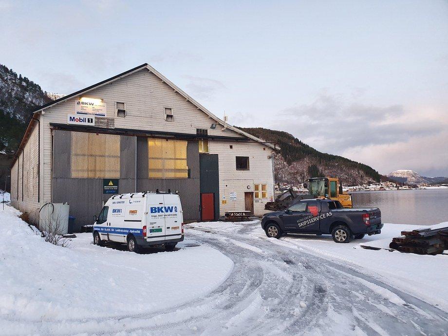 K ongsberg Skipsservice AS  har overtatt anlegget til tidligere BKW AS i Halsa Foto: Kongsberg Skipsservice AS