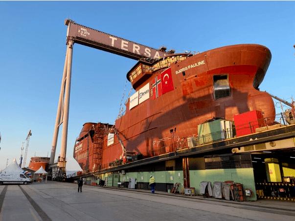 Wellboat Bjørg Pauline. Foto: Merete Kristiansen/Nordlaks.