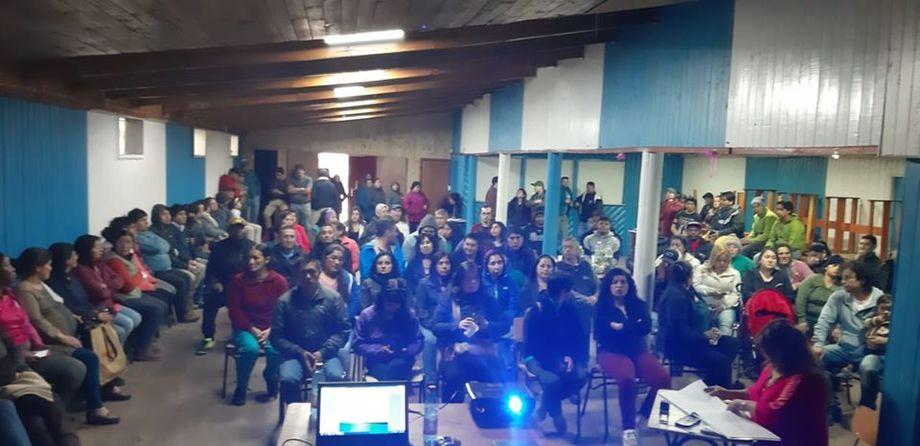 La mayoría de los trabajadores del Sindicato Nº2 de Yadran aprobaron el convenio colectivo. Foto: Sindicato Nº2 de Yadran.