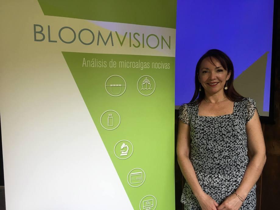 Directora ejecutiva de Bloomvision, Nathalie Fuica. Foto: Archivo Salmonexpert.