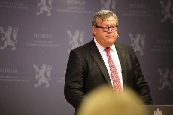 Fiskeri- og sjømatminister Harald Tom Nesvik. Foto: NFD