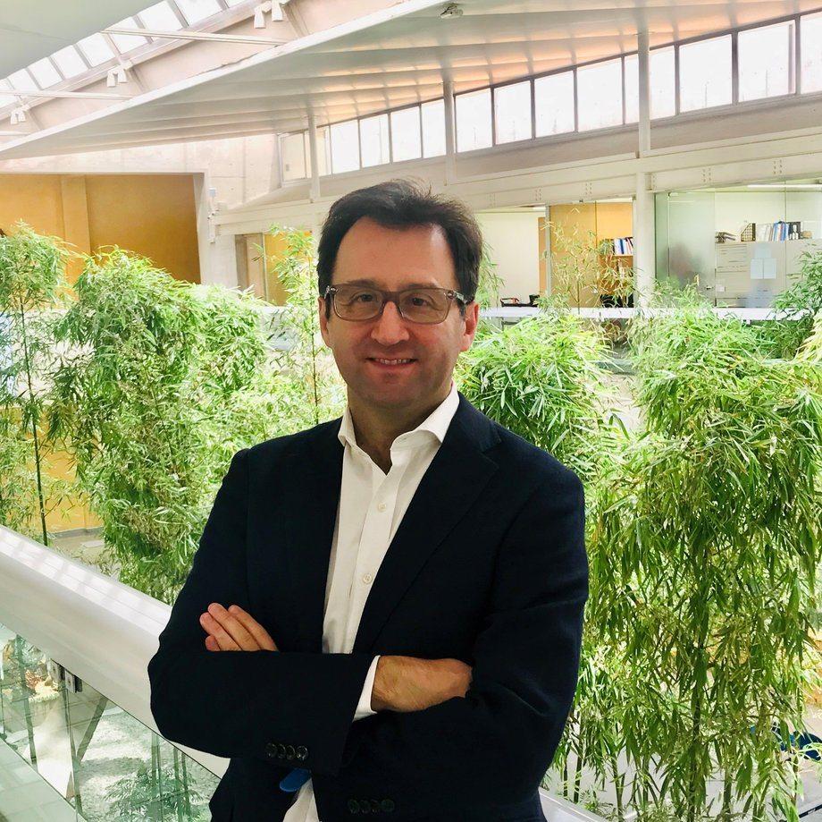 Claudio Córdova, gerente de Desarrollo de Transporte en Gasco GLP. Foto: Gasco.