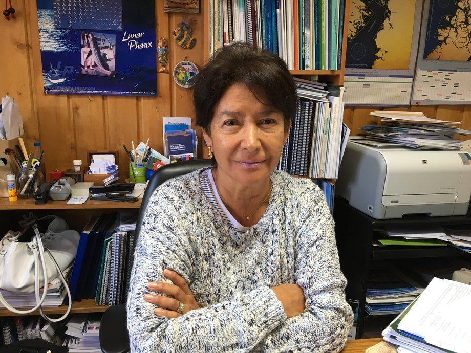 Sandra Bravo, investigadora del Instituto de Acuicultura de la Universidad Austral de Chile sede Puerto Montt. Foto: UACh.