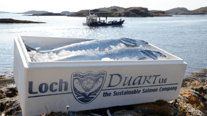 Loch Duart is keen to ensure food fraudsters can't pass off fish from other sources as Loch Duart salmon.