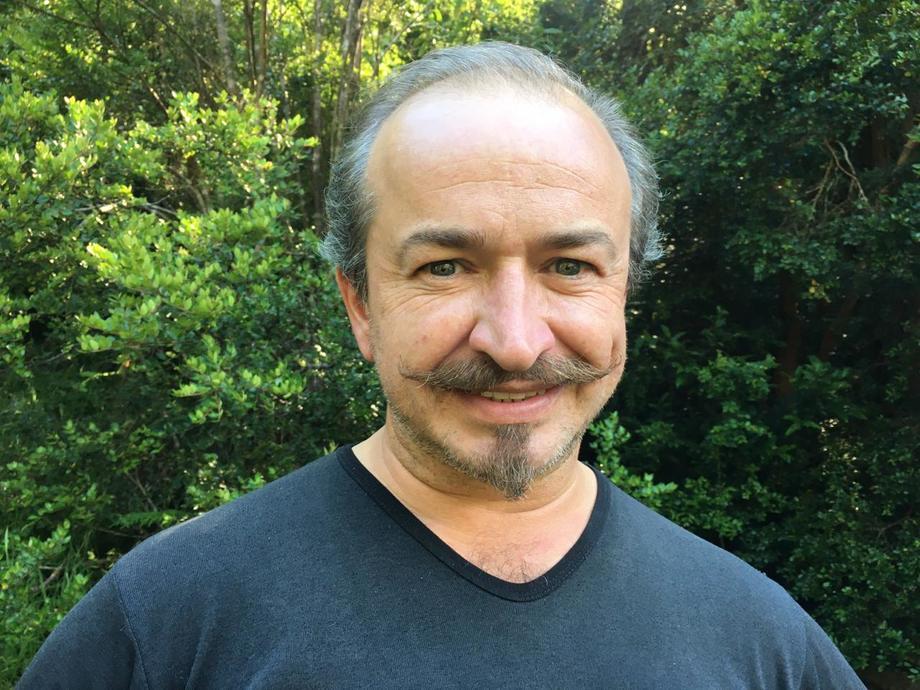 Christian Martino, dueño de la empresa Reciclajes Martino y creador de la iniciativa Aysén Recicla.Foto: Cedida.