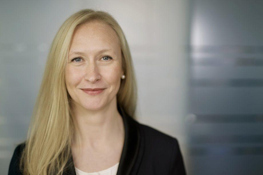 La CEO del Consejo Noruego de Productos del Mar, Renate Larsen. Imagen: CF Wesenberg Kolonihaven.