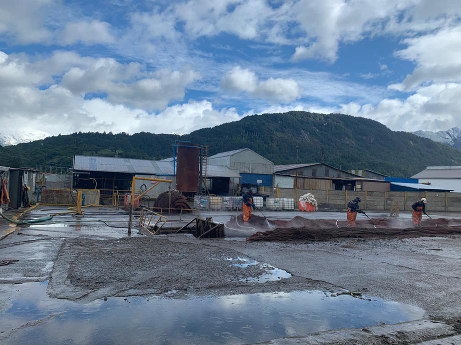 La inauguración del taller de redes de Badinotti en la región de Aysén se realizará el próximo jueves 16 de enero. Foto: Badinotti Group.