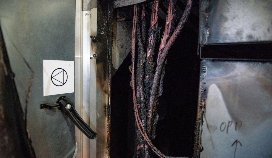 Brannen oppsto i ventilasjonsanlegget natt til torsdag. Foto: Christine Fagerbakke/Havforskningsinstituttet.nnårsaken er foreløpig ikke k