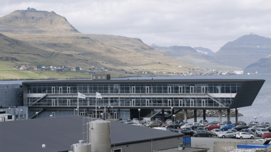 The Bakkafrost HQ at Glyvrar in the Faroe Islands. The company is embarking on the final phase of its effort to acquire all of the Scottish Salmon Company's shares. Photo: FFE.