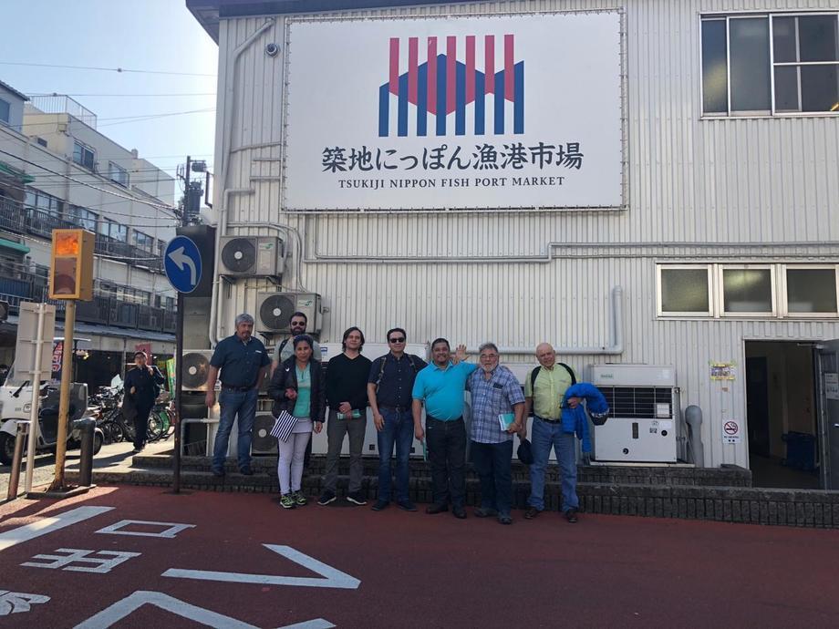 Gira a Japón y Corea por parte de las instituciones integrantes del proyecto fue clave para echar a andar la iniciativa. Foto: Archivo Salmonexpert.