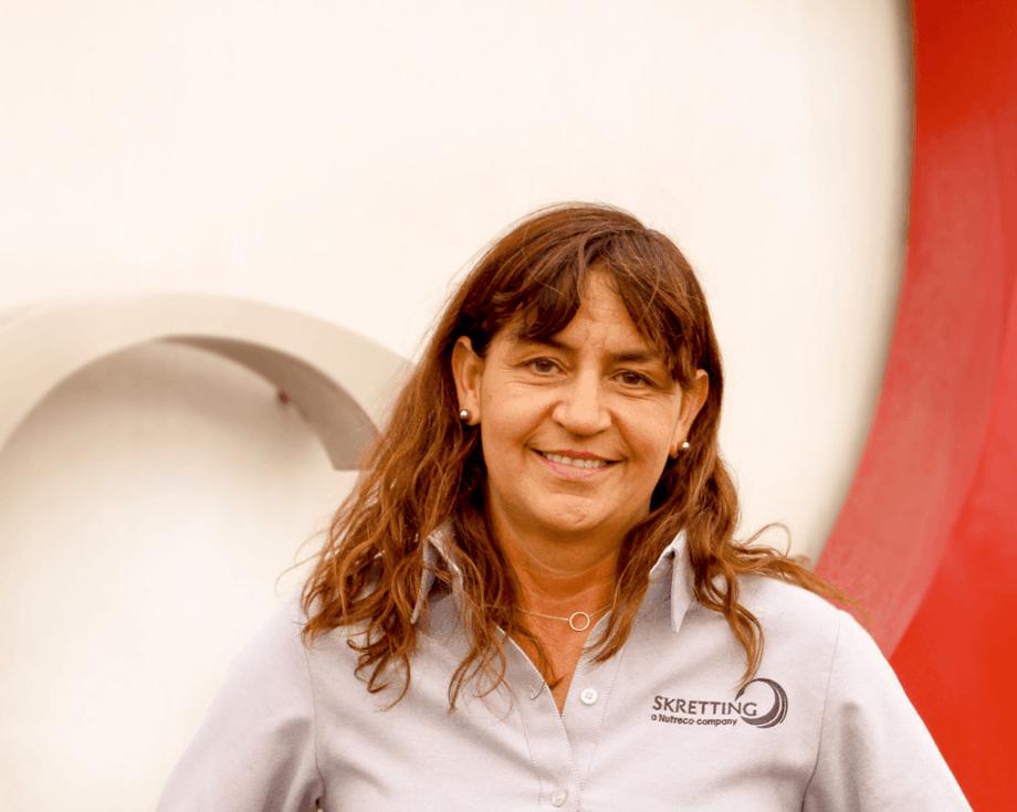Claudia Gatica, gerente Técnico de Skretting Chile. Foto: Skretting Chile.