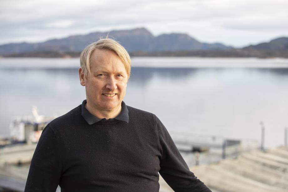 Anders Marthinussen skal være med å realisere og videreutvikle det planlagte kunnskaps- og visningssenteret for havbruk ved Atlanterhavsveien. Foto: Pure Norwegian Seafood