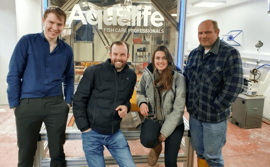 El equipo de desarrollo de Aqualife. Foto: Aqualife.
