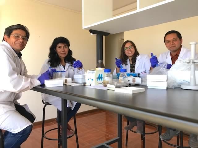 Los científicos participantes del proyecto chileno-peruano. Foto: Ceaza.