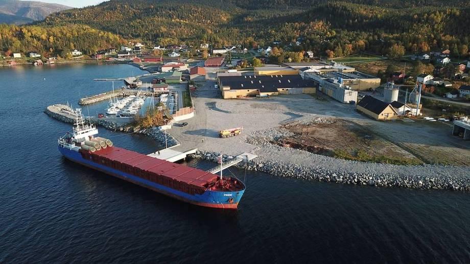 Skrinlegger investering: Salmonor AS trekker planene om å bygge et settefiskanlegg i Terråk i Bindal kommune. Foto: Brukstomta Næringspark AS