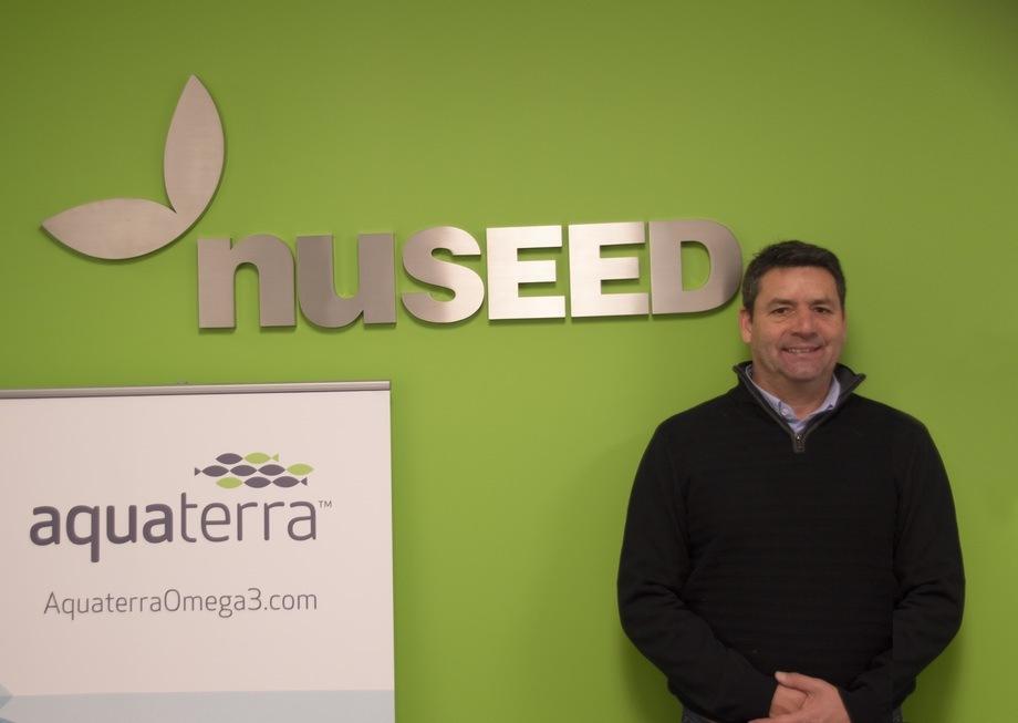 Pablo Berner, nuevo gerente de Acuicultura en Chile de Nuseed. Foto: Nuseed.
