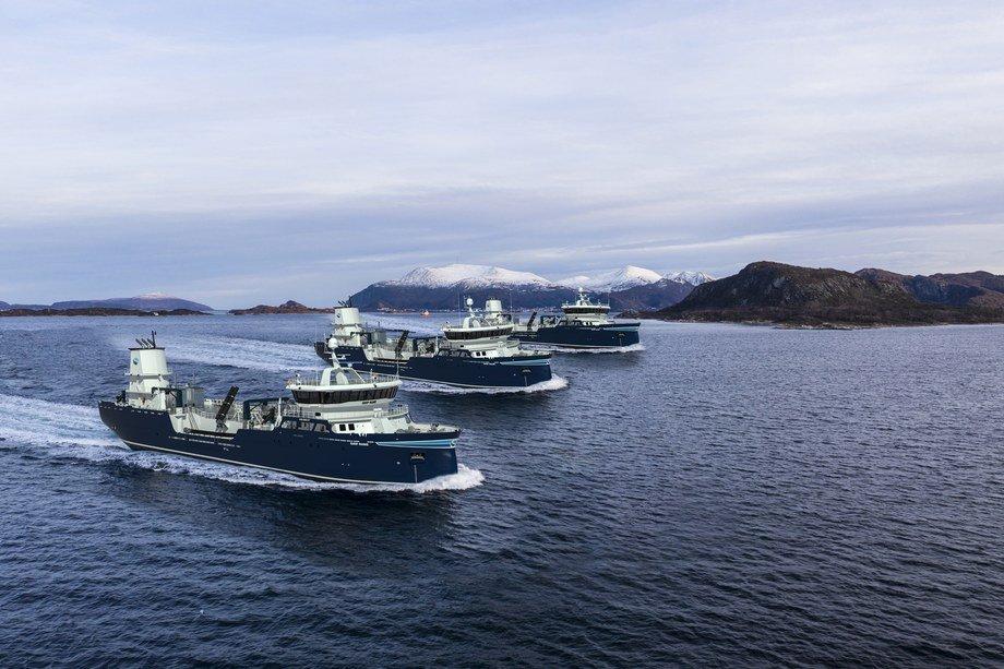 De tre brønnbåtene skal bygges med verftets eget design, type AAS 3002 ST. Illustrasjon: Aas Mek