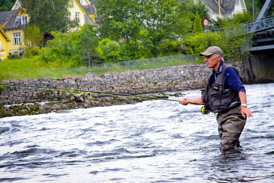 Ole Kristian Skorve, Voss Jegar og Fiskarlag. Foto: Privat.
