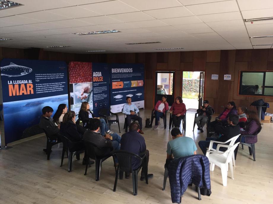 A la actividad asistieron más de 80  personas, además de organizaciones sociales y vecinales. Imagen: ISS.