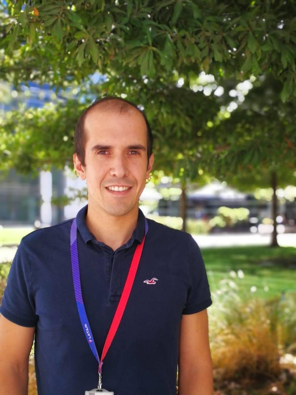Ignacio Galinovic es gerente comercial Sudamérica de Latam Cargo. Imagen: Latam.