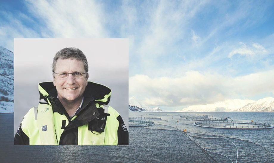 CEO de Grieg Seafood, Andreas Kvame. Foto: Archivo Salmonexpert.