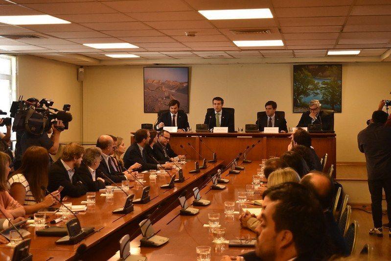 El encuentro se llevó a cabo el pasado viernes 7 de febrero. Imagen: Prochile.